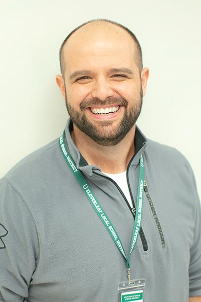 Joe Manos,  Intervention Specialist, Cloverleaf Middle School